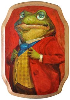 Toad of Toad Hall by Adam Rex #illustration