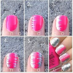 Nail Art Design Step By Step - http://www.mycutenails.xyz/nail-art-design-step-by-step.html