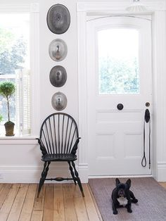 Entry ~ via Carla Aston The Classically Beautiful Windsor Chair