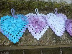 Made by Deni: SRDÍČKO MÁNIE Crochet Earrings, Jewelry, Fashion, Moda, Jewlery, Bijoux, Fashion Styles, Schmuck, Fasion