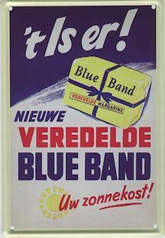 Een BlueBand reclame. #reclame #boter #zuivel #affiche