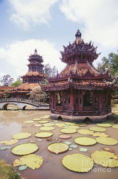 Phra Kaew Pavillion Temple, Bangkok, Thailand.