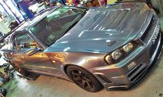 Nissan Skyline Z-Tune Tuner Cars, Jdm Cars, Nissan Gtr R34, Nissan Gtr Skyline, 4 Life, Godzilla, Cars And Motorcycles, Awesome