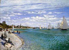 Claude Monet - Red Arte