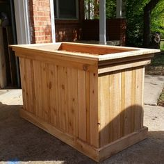 Check out this project on RYOBI Nation - I built these to hold tomato plants and I am very pleased with the way they turned out. the overall dimensions ended up beingone about 2 feet by 4 feet by 2 feet tall.