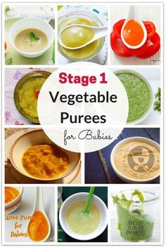 Purees are among the first foods given to babies. Use this chance to introduce your baby to a variety of veggies with these vegetable purees for babies. food recipes stage 1 6 months veggies 20 Quick and Easy Vegetable Purees for Babies Baby Puree Recipes, Pureed Food Recipes, Baby Food Puree, Sweet Potato Puree Baby, Quick Recipes, Baby Food Recipes Stage 1, Fingerfood Baby, Baby First Foods, Vegetable Puree