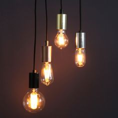 Sort Stoffledning m/ Metallisk Sokkel Star Wars, Light Bulb, Ceiling Lights, Lighting, Home Decor, Decoration Home, Light Fixtures, Room Decor, Lightbulbs