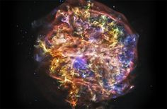 The supernova remnant G292.0+1.8 is of particular interest to astronomers. One of only three remnants in our galaxy known to contain large quantities of oxygen, G292.0+1.8 is a source of elements heavier than hydrogen and helium. The high metalicity of debris clouds like these form the basis of metal-rich stars, planets and complex chemistry that forms the basis for life.