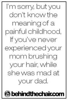 Or if your sister is mad at someone!