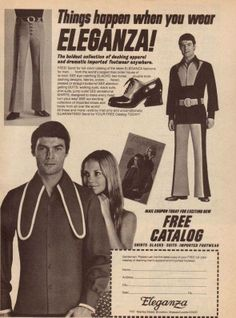 Things happen when you wear Eleganza!