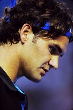 Federer: I love the intensity of a serious athlete! I always wonder... What are they thinking?