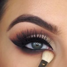 Eye Makeup Daytime Wedding Makeup – Brille Make-up Makeup Looks For Green Eyes, Makeup Eye Looks, Smoky Eye Makeup, Eye Makeup Steps, Beautiful Eye Makeup, Eyebrow Makeup, Eyeshadow Makeup, Amazing Makeup, Makeup Eyes