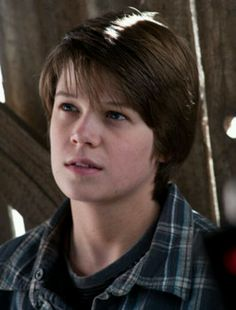 Colin ford from We Bought a Zoo.......that is the sound of my heart melting