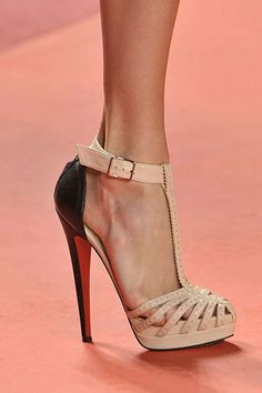 saturday morning christian louboutins - these are from phillip lims runway show.be Cheap price for Christian Louboutin High heels/Shoes for your Chrismas day! Hot Shoes, Crazy Shoes, Women's Shoes, Me Too Shoes, Shoe Boots, Platform Shoes, Strappy Shoes, Pink Shoes, Gucci Shoes