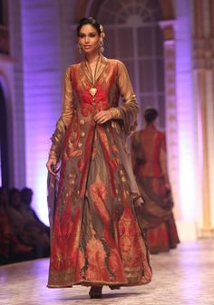 Ashima Leena - India Bridal Week 2013