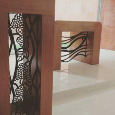 Altar e Ambão criação de Hilda Souto e fabricação em #acocorten da Oficina do Corten