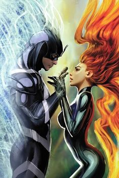 Why would Blackbolt need a harem when he has Medusa's super sexy super strong personality?
