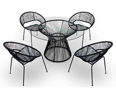 5 Pc. Acapulco Dining Set HL-ACA-5DN - click through to check out ALL items we offer in our Acapulco Collection!