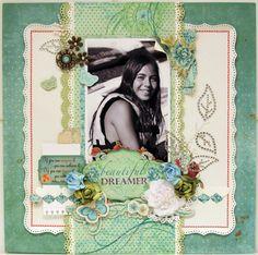 BEAUTIFUL DREAMER *** Bo Bunny - Ambrosia Collection