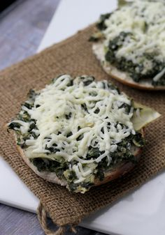 Open-Faced Spinach, Artichoke and White Bean Grilled Cheese - Joanne ...