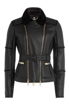 Belted Leather Biker Jacket and other Burberry London women's jackets and coats for sale online. Versace Jacket, Burberry Jacket, Slim Fit Jackets, Jackets For Women, Women's Jackets, Outerwear Jackets, Coat Sale, Lambskin Leather Jacket, Ladies Of London