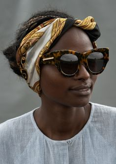 Karen Walker didn't stop at simply collaborating with the Kenyan craftsmen and women: She cast them in her campaign