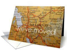 We've moved to Salt Lake City card