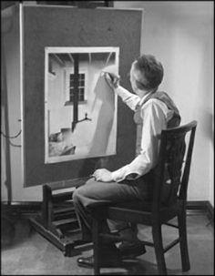 Charles Sheeler - Self Portrait (1932)