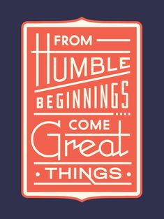 Comienza pequeño pensando en grande. http://www.karmenolmo.com