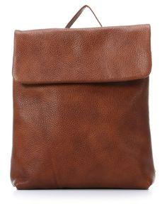 Vika Backpack Leather tobacco 31 cm