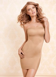 Vanishing Edge® Strapless Slip – Allover smoothing and shaping #SomaIntimates