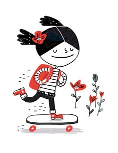 Magda - children kids kinder illustration