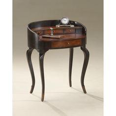 Butler Damosel Cafe Noir Ladies Writing Desk