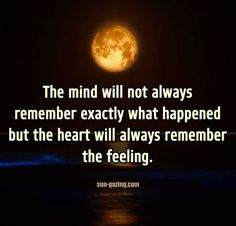 The Mind ... and the Heart ...