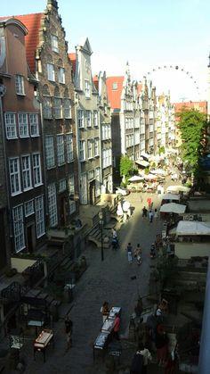 Mariacka Street in Gdansk, Poland