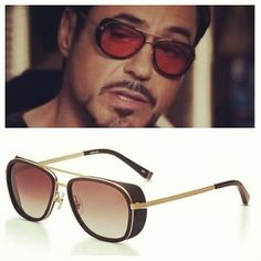 Tony Stark rocking Matsuda M3023.MG sunglasses in Iron man 3.