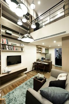Living Room at ONYX Condominium from Sansiri