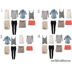idée garde robe pour les vacances