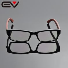 New arriving brand fashion spectacle optical eye glasses frame men wooden leg vintage spectacle frames EV0999