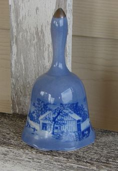 vintage blue bell