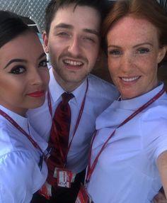 【イギリス】ヴァージン・アトランティック航空 客室乗務員 / Virgin Atlantic Airways cabin crew【UK】 Grace Perry, Photo And Video, Videos, Instagram, Fashion, Moda, Fashion Styles, Fashion Illustrations