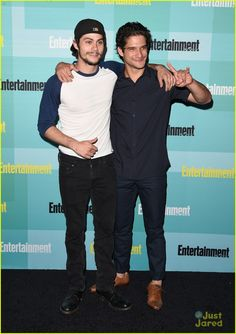 Dylan O'Brien, Tyler Posey at EW's Comic-Con Party 2015
