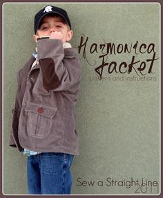 boys jacket free printable pattern and tutorial that just happens to be in a size 5/6?  Thank you very much!