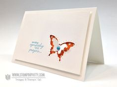 NEW Quick & Pretty Video: Paper-Pierced Butterfly - Stampin' Up! Demonstrator - Mary Fish, Stampin' Pretty Blog, Stampin' Up! Card Ideas & Tutorials