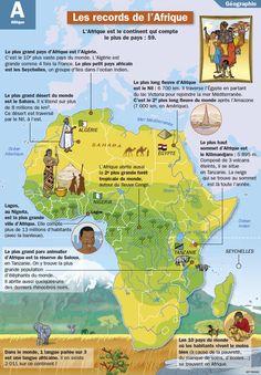 Fiche exposés : Les records de l'Afrique                                                                                                                                                                                 Plus