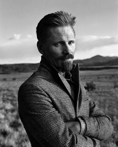 """""""I have never been in a natural place and felt that it was a waste of time. I never have. And it's a relief. If I'm walking around a desert or whatever, every second is worthwhile."""" ~ Viggo Mortensen Looking Epic has never been easier, let our personal stylist help you, sign up today www.lookingepic.com"""