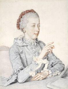 Maria Elisabeth of Austria 1762 by Liotard - Jean-Étienne Liotard - Wikimedia Commons