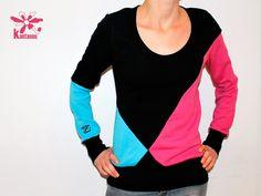 sewing insp: Sweatshirts - Pullover Caro 3 - ein Designerstück von kantasou bei DaWanda