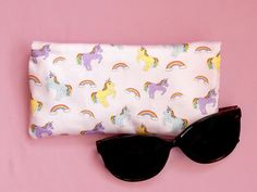 Your place to buy and sell all things handmade Passport Wallet, Unicorn Gifts, Unicorn Print, New Print, Wash Bags, My Drawings, Printing On Fabric, Sunglasses Case, Style Me