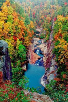 Our Amazing Planet - Comunidade - Google+     Tallulah Gorge, Georgia